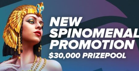 Spinomenal's March Tournament – $30,000 Prize Pool