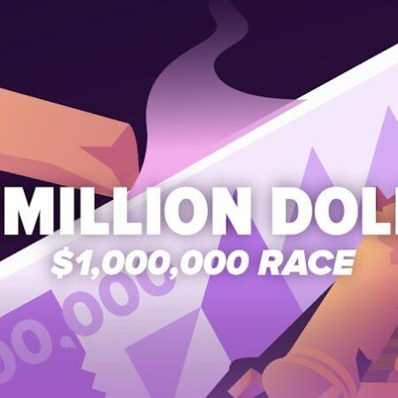 One Million Dollar Race! $1,000,000