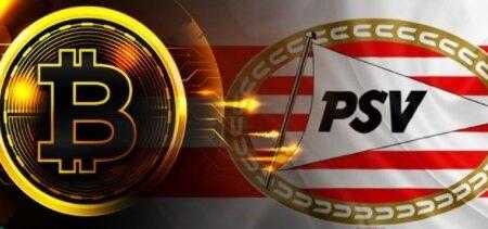 Bitcoin price rises as Dutch football club PSV announces support